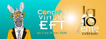 Affiche du congrés virtuel d'EFT 2020